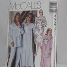 McCall's Misses Nightgown 6309 Three Lengths and Pajamas  No. 165