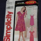 Simplicity 5621 Misses' Miss Petite Dress Size A 8-18  No. 165