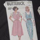 uncut Butterick pattern 3742 Jumpsuit Jumper Top L-XL  No. 160