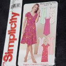 Simplicity 5621 Misses Miss Petite Dress No. 167