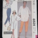 8531 McCalls Willi Wear Size 12 bust 34 Dress tunic shirt pants Uncut No. 167