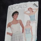2024 McCalls Camisoles Straps Strapless No. 167