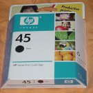HP 45 inkjet black Ink Cartridge Expiration date September 2007