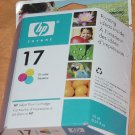 HP 17 inkjet Tri-color print Cartridge Expiration date September 2006