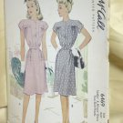Vintage McCall 6469 Uncut printed pattern Ladies & Misses Dress size 14 Bust 32 No. 167