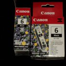 Canon 6 Black BCI-6BK  Expiration date not on package  No. 32