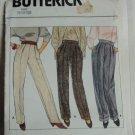 Pants Pattern 6143 Uncut Butterick 8-10-12 straight leg pants pattern