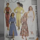 McCall's uncut Fashion Basics Dresses Pattern no 6613 Size C 10-14 No. 174