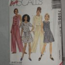 Easy McCall's uncut size B 8-10-12 pattern 7595 Top Pants skirt shorts No. 174