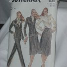 Butterick Sewing Pattern 3325 Womens size 16 Evan Piccone Jacket Blouse Skirt Pants