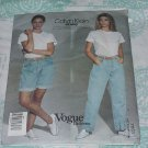 Vogue 1982 Calvin Klein Jeans Sewing pattern 2851 Couturier Design Vogue American Designer  No. 178