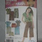 Simplicity Sewing Shorts Pants Hoodie Pattern 3813  size BB 8 1/2 - 16 1/2 No. 178 no. 178