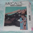 McCalls Sewing Pattern 8060 Womens size 12 Bra 10-12-14 Make It Tonight Bikini Cover-Up  No. 178