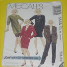 McCalls Sewing Pattern 5548 Womens Size G  20,22,24 Jacket Dress runic Top Skirt Pants No. 178