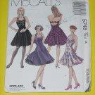 McCalls Sewing Pattern 5748 Womens Size 14  Dress Petticoat  No. 178