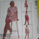 McCalls Sewing Pattern 8654 Womens Size D Maternity Tunic Jumpsuit Pants  No. 178