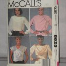McCalls Sewing Pattern 8825 Size 12 Misses Blouses No. 178