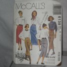 McCalls Sewing Pattern 6139 Size D 12-14-16 Misses Skirts No. 178