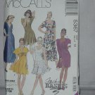 McCalls Sewing Pattern 5367 Size 14 Misses Dress Three Lengths Leggings No. 178