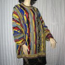 Mens Sweater XL Fall Winter Sweater Crew Neck Bright Colors   No. 160