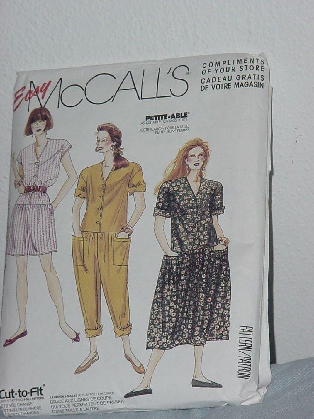 Misses Jumpsuits Dress McCalls 0022 sewing pattern  No. 184