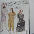 Misses Jumpsuits Dress McCalls 0022 sewing pattern  No. 184
