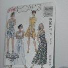 Dress Split Skirt Dress McCalls 6004 sewing pattern  No. 184