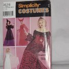Simplicity Costume Size HH 6,8,10,12 Uncut Dress Pattern No. 184