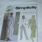 8602 Tunic Skirt Pants Simplicity Millennium Sewing Pattern Size P  12, 14, 16  No. 185