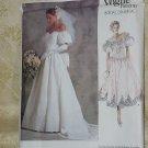 Vogue's Bridal Original Pattern Uncut 2179 Size 12 Bridal Dress Couture Advanced No. 60