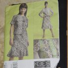 Koos Couture Vogue American Designer Pattern Uncut 2726 Size XS,S,M  Top Skirt No. 60