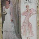 Vogue Patterns Bridal Original Pattern Uncut 1826 Size 10 Bridal Dress Gown No. 60