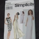 Simplicity 8669 Size Z 20, 22, 24 Dress two lengths  No. 190
