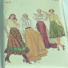 4090 Butterick Jumper Jumpsuit Top sewing Pattern Size 6  No. 31