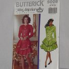 5008 Butterick Miss America Collection Misses' Dress Ruffles Size 12-16 Uncut No. 192