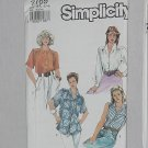 7169 Simplicity Shirts Blouses Misses' sewing Pattern Size H5 6-14 Uncut No. 192