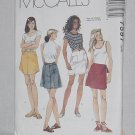 7597 McCalls Misses' Skirts sewing Pattern Size B 8, 10, 12  Uncut No. 193