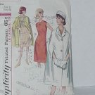 Dress Cape Pattern Simplicity 5833 Size 12 vintage Bust 32 No. 200