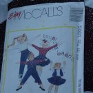 Easy McCalls 5001 Size CD 2,3,4 Childrens Vest Tops Skirt Pants  No. 201