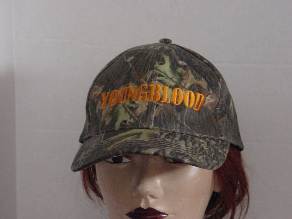 Camouflage Cap Green Earthtones Youngblood No. 200