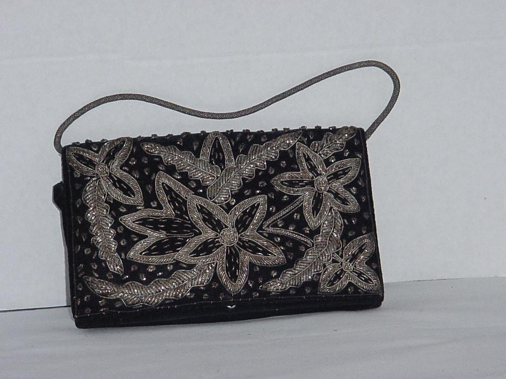 Gold Thread envelope purse evening bag evening clutch purse India  NO. 200