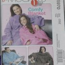 McCalls 5970 Comfy Blanket One Size Uncut Pattern No. 203