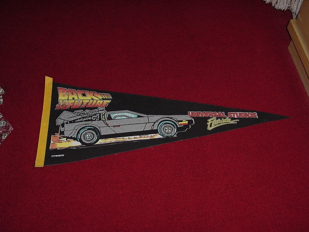 Back to the Future Pennant