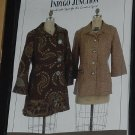 Indygo Junction Trench Topper Mary Ann Donze Size S-XL Unused Pattern  No. 206