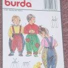 Burda 4762 Child's Pantelon Pants 6mo-4  No. 206