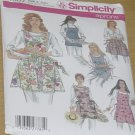 Set of Aprons, Uncut Aprons 4987 Simplicity  No. 208