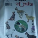 9520 Large Size Dog Clothes Simplicity Longia Miller Designs  No. 212