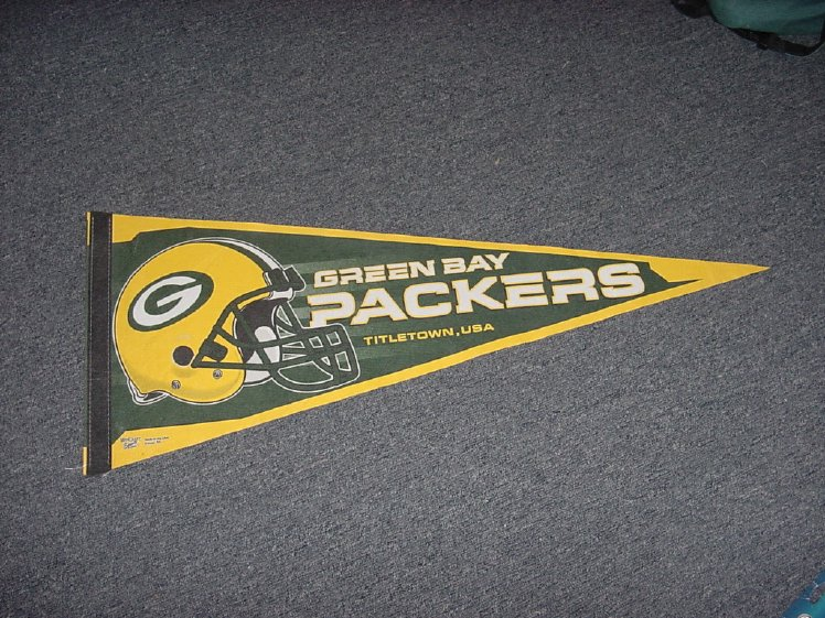 Green Bay Packers Football Pennant Wincraft Edition11