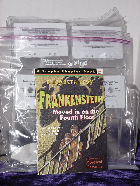 Frankenstein Moved in on the Fourth Floor Book and Tape Carbo Recording Reading  No 211