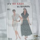 Simplicity 9663 Misses' Dress Two lengths size 10-20  No. 211